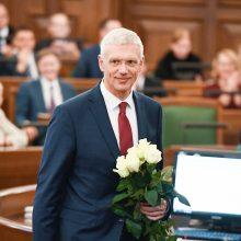 Latvijos Saeima patvirtino K. Karinio koalicinę vyriausybę