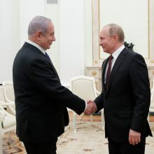 Maskvoje vyko B. Netanyahu ir V. Putino derybos dėl Irano