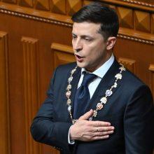 V. Zelenskis kritikuojamas dėl savo administracijos vadovo paskyrimo