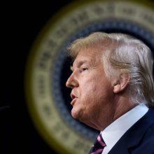 JAV demokratams baigus dėstyti argumentus D. Trumpo apkaltos byloje pasisakys gynėjai