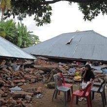 Papua Naujojoje Gvinėjoje po smarkaus žemės drebėjimo paskelbtas cunamių pavojus