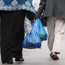 Meksikos sostinė uždraudžia plastikinius maišelius