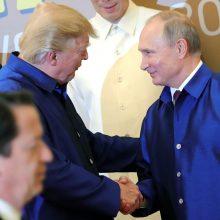 Dauguma amerikiečių mano, kad susitikimas Helsinkyje bus naudingesnis V. Putinui
