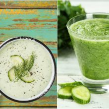 Žaliasis daržo karalius – agurkas: suteikia ir atgaivą, ir naudą <span style=color:red;>(receptai)</span>