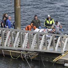 Aliaskoje susidūrus dviem vandens lėktuvams žuvo penki žmonės