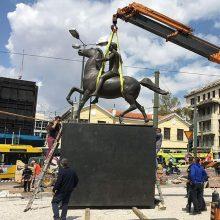 Atėnuose po 27 metų pagaliau pastatyta Aleksandro Makedoniečio statula