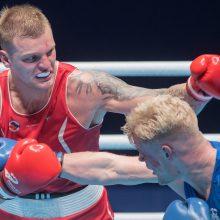 Boksininkas A. Baniulis pergale startavo pasaulio kariškių žaidynėse