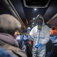 Daugėja koronavirusu užsikrėtusių žmonių mirčių: griežtai perspėjama dėl kelionių