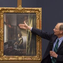 Drezdeno galerijos restauratoriai visuomenei parodys tikrąjį Vermeerio paveikslą