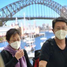 Neramumai tęsiasi: Australijoje patvirtinti pirmieji užsikrėtimo koronavirusu atvejai
