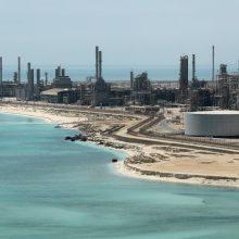 Saudo Arabijoje didelis naftotiekis atakuotas bepilotėmis skraidyklėmis