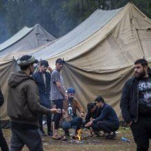 G. Nausėda: migrantų gyvenimo sąlygos yra tokios, kokias leidžia galimybės