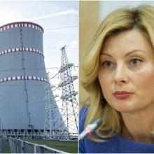 """Vidaus reikalų ministrė: Astravo AE pradžia """"gali šiek tiek nutolti"""""""