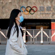 """Pekino olimpiada po Tokijo žaidynių atidėjimo susiduria su """"ypatinga situacija"""""""