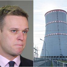 G. Landsbergis apie Astravo AE: patirtus šalies nuostolius turi atlyginti Baltarusija