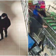 Alytaus pareigūnai prašo pagalbos: vyras pasiėmė prekių ir išėjo nesumokėjęs <span style=color:red;>(gal atpažįstate?)</span>