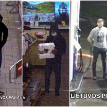 Vienas vyras iš parduotuvės pavogė siuvimo mašiną, kitas nesusimokėjo už benziną <span style=color:red;>(gal atpažįstate?)</span>