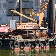 Atomazga Latvijos statybininkų ginče Lietuvoje