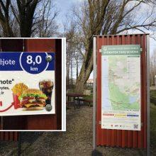 Pasipiktino sveikatingumo tako nuorodomis: stenduose reklamuojamas nesveikas maistas?