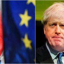 """Pateiktas naujas """"Brexit"""" planas: leis išvengti muitinės tikrinimų Airijos pasienyje"""