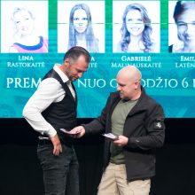 """""""Domino"""" teatre – R. Cicėnas ir netikri milijonai"""