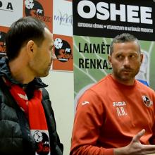 """""""Sūduvos"""" treneris A. Ramonas: stengsimės nenuvilti ir išsaugoti titulą"""