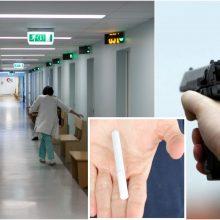 Prašymą duoti cigaretę palydėjo šūviu: Taikos prospekte į koją pašautas vyras