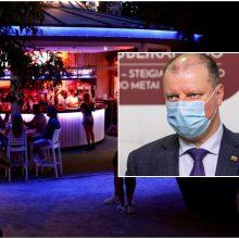 S. Skvernelis: sprendimai dėl naktinių klubų darbo laiko trumpinimo bus padaryti