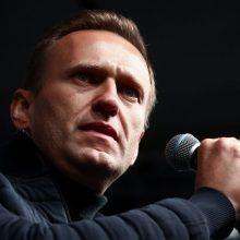 Spauda: A. Navalnas nenori Vokietijos ir Rusijos bendradarbiavimo tiriant apnuodijimą