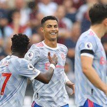 """""""Premier"""" lygoje – C. Ronaldo įvartis ir """"Man United"""" išsigelbėjimas"""