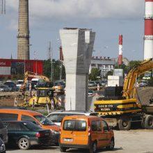 Baltijos prospekto estakados rekonstrukcija – be nukrypimų