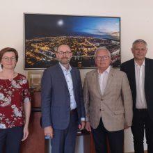 Danijos ambasadorius domėjosi Klaipėda