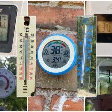 Lietuvoje užfiksuotas birželio temperatūros rekordas