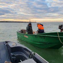 Tarnybos tikrino žvejus: įspėjo laikytis reikalavimų