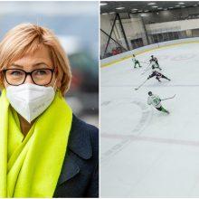 J. Šiugždinienė: Lietuva pasiryžusi padėti surengti dalį pasaulio ledo ritulio čempionato