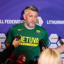 Atrankoje per rakto skylę išlindusios Lietuvos pozicija FIBA reitinge nepasikeitė