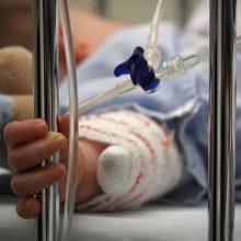 Klaipėdoje į ligoninę iš namų pristatyta sužalota mažametė