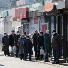Ukrainoje – 11,5 tūkst. naujų COVID-19 atvejų, 167 pacientai mirė