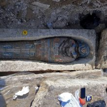 Egipto archeologų atradimas: rado aštuonis senovinius sarkofagus