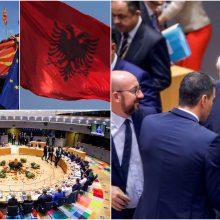 Po septynias valandas trukusių ginčų – ES aklavietė dėl plėtros į Vakarų Balkanus