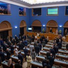 Trys Estijos partijos pasirašė koalicijos sutartį
