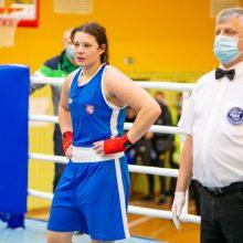 Kovoje dėl olimpinio kelialapio Lietuvos boksininkės laukia tituluotos varžovės