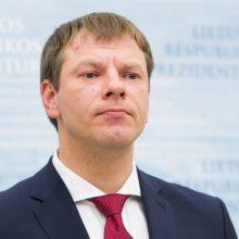 V. Šapoka Briuselyje aptars Ekonominės ir pinigų sąjungos stiprinimą