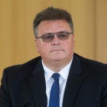 L. Linkevičius ragina gruzinus vengti smurto po susirėmimų prie parlamento