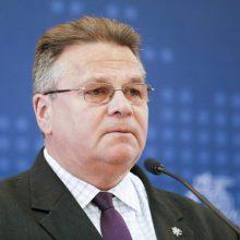 L. Linkevičius ragina Latviją tęsti derybas dėl prekybos elektra