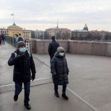 Rusijoje – naujas COVID-19 atvejų rekordas, mirė 457 pacientai