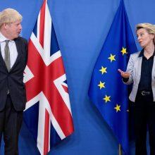 """Europos lyderiai džiaugiasi pasiektu """"Brexit"""" susitarimu"""