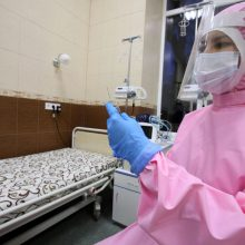 Ukrainoje – beveik 3,2 tūkst. naujų COVID-19 atvejų, mirė 79 pacientai