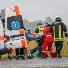 Tragiška nelaimė Skuodo rajone: per dviejų automobilių avariją žuvo žmogus