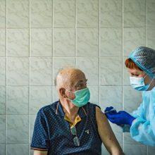 Ukrainoje – 876 nauji COVID-19 atvejai, 53 užsikrėtusieji mirė